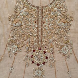 Embroidery Work on frock