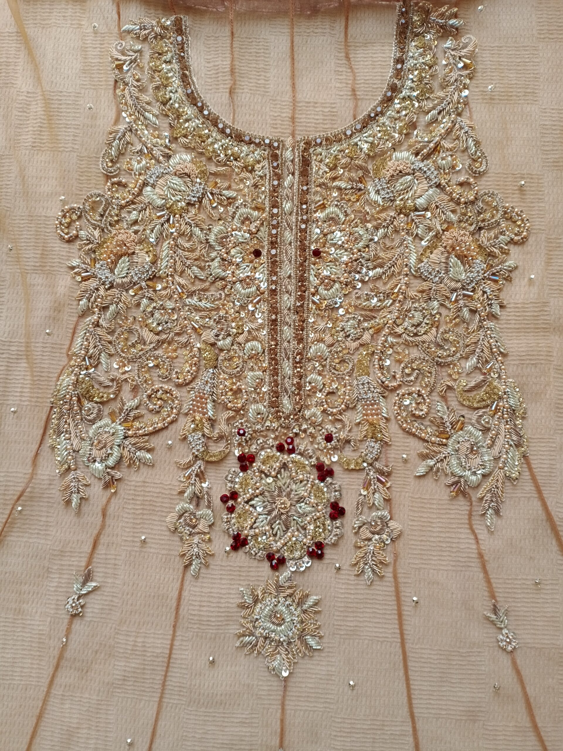 Embroidery hand-made Frock For Sale