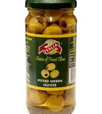Italia Green Olives Pitted , 230g